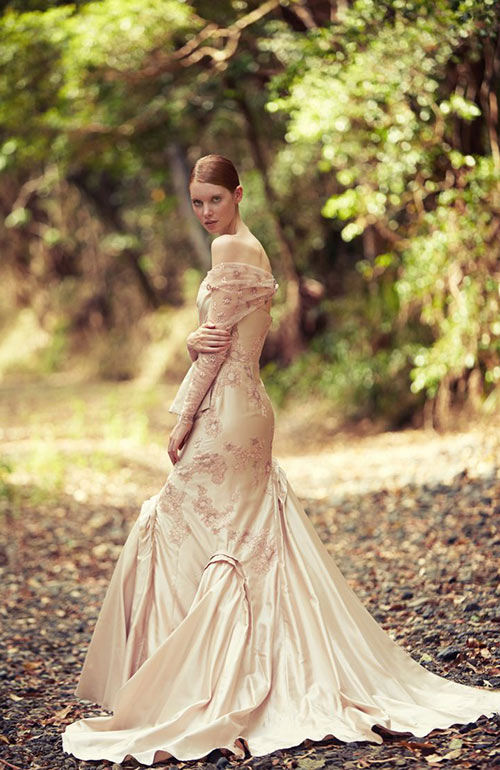 George Wu Dramatic Wedding Dress