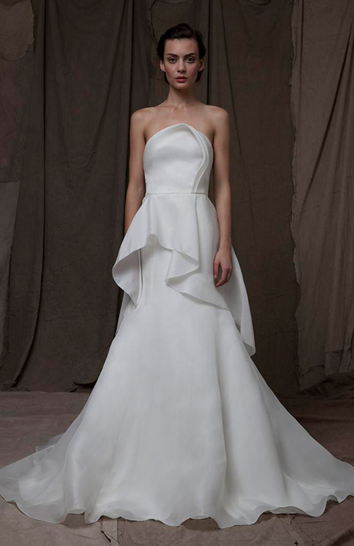Lela Rose Dramatic Wedding Dress