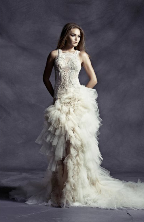 Pallas Dramatic Wedding Dress