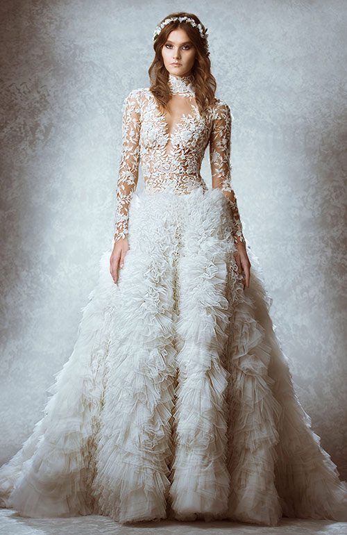 Zuhair Murad Dramatic Wedding Dress