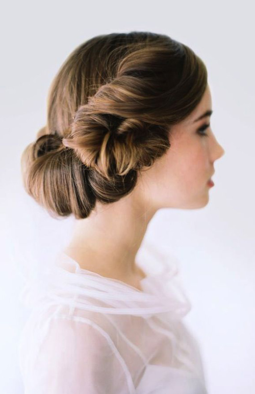 Wedding Hairstyle Bride Hair Long Hair