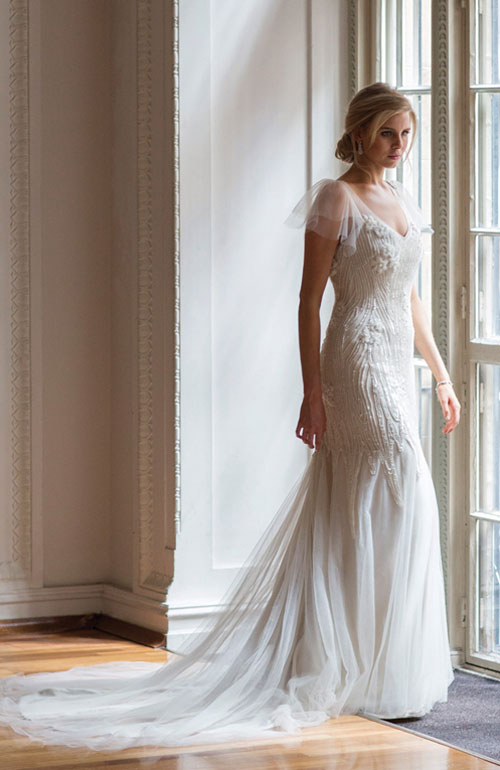 Louise Alvarez wedding gown