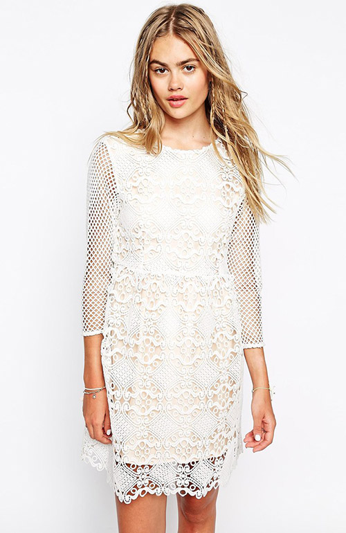 Nontraditional wedding dress ASOS
