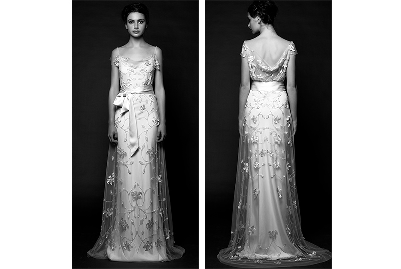 Nontraditional wedding dress Sarah Janks