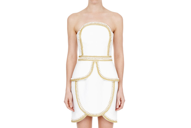Nontraditional wedding dress Sass and Bide