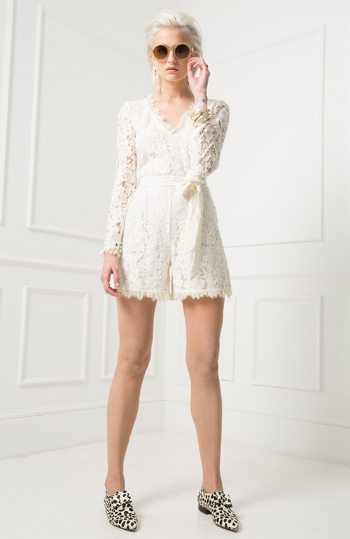 Nontraditional wedding dress Temperley
