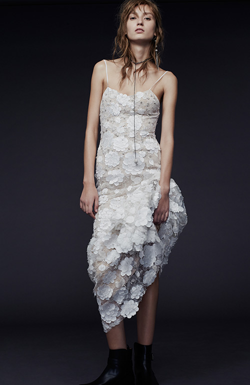 Nontraditional wedding dress Vera Wang