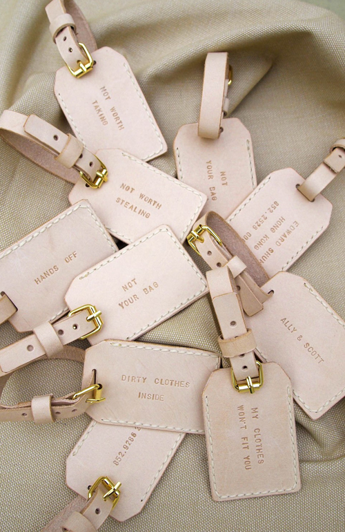 etsy bridesmaid gifts luggage tags