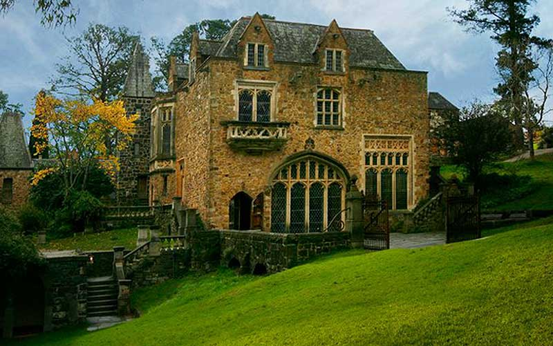 Monsalvat wedding venue in Melbourne