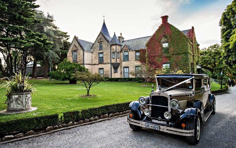 Overnewton Castle wedding venue Melbourne