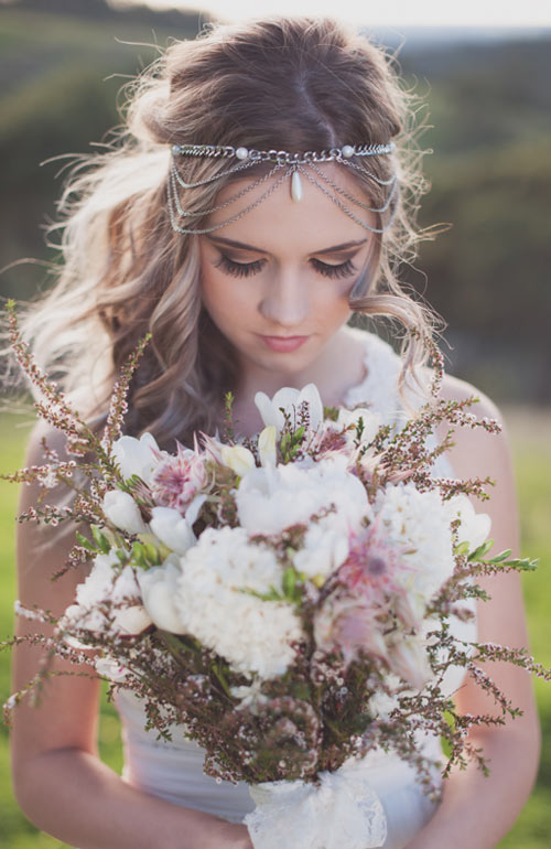 Bella in Bloom bridal bouquet